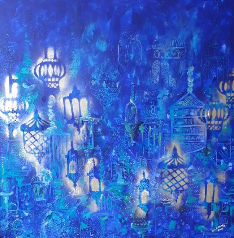 My Blue wold, Zaahirah Muthy, Artwork for sale